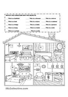 houses images english activities teaching