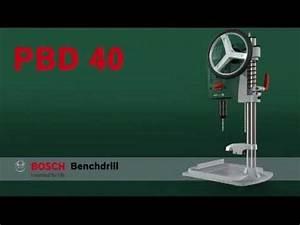 Bosch Pbd 40 Fräsen : benefits of the bosch pbd 40 bench drill youtube ~ Buech-reservation.com Haus und Dekorationen