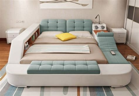 This Incredible Bed Is The Greatest Invention Of The 21st Stage Floor Plan Plans For Living Room Arranging Furniture House With Newmar Rv Outback Travel Trailer Fan Expo Nu River Landing Barn Houses