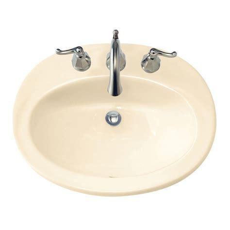 American Standard Piazza Self Rimming Bathroom Sink in