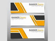Vector set of modern banners template design 06 Vector
