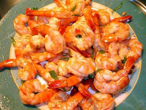les meilleures recettes d 39 apero crevettes