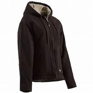 Berne Ladies 39 Washed Hooded Jacket All Seasons Uniforms