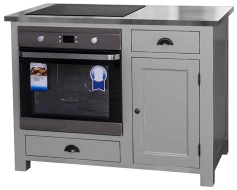meuble cuisine four et plaque meuble cuisine plaque et four dootdadoo com idées de