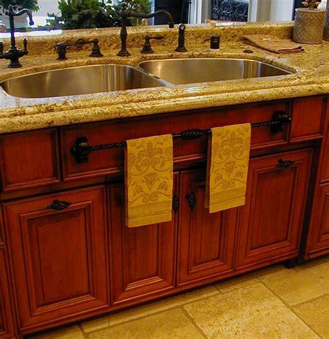 kitchen towel bars ideas cherry custom kitchen by cabineture the furniture kitchen