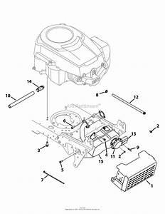 Troy Bilt 13wx78ks011 Bronco  2010  Parts Diagram For
