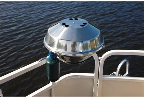 Pontoon Boat Barbecue Gas Grill by Research 2010 Crestliner Boats Batata Bay 1985 On