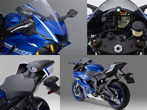 The New 2017 Yamaha Yzf-r6 Supersport Bike