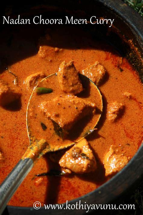 kerala style tuna curry nadan choora meen curry