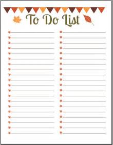 Printable Do List