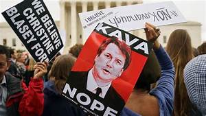 Republicans launch save-Kavanaugh campaign amid protest ...
