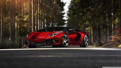 Classic Car Wallpaper 1600 X 900 Cool Pics by Lamborghini Aventador Lp 700 4 Forest 4k Hd Desktop