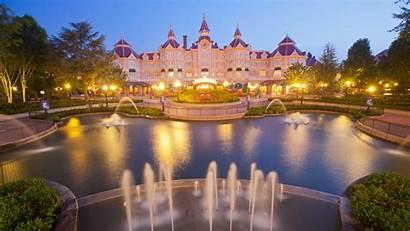 Disneyland Paris Hotel France Europe 4k Architecture