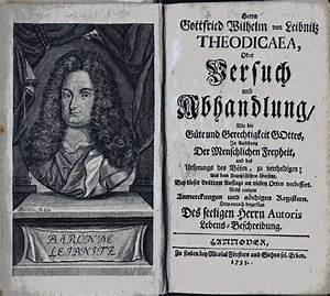 Differenzial Rechnung : gottfried wilhelm leibniz theodicaea oder versuch und ~ Themetempest.com Abrechnung