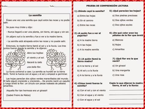 Espanol 5 Y 6 Cervantes Lectura De Comprencion Para Sexto