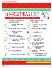 the christmas to do list free printable frog prince paperie