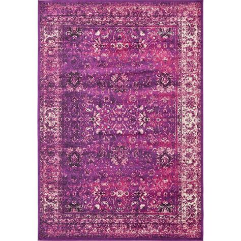 lilac area rug unique loom istanbul lilac 8 ft x 11 ft 6 in area rug 3793