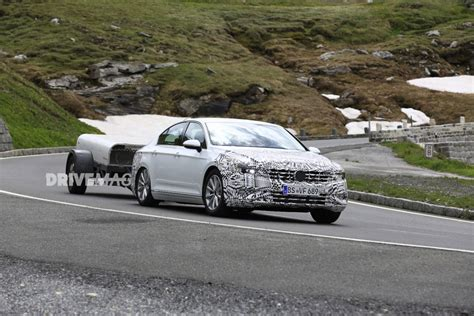 Volkswagen Passat Facelift Spotted Wearing Front And Rear