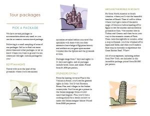 Word Travel Brochure Template by Travel Brochure Template Microsoft Travel Brochure
