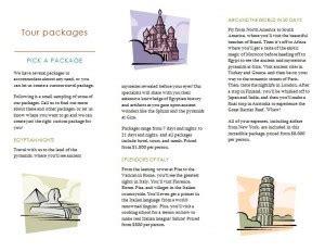 travel brochure template microsoft travel brochure