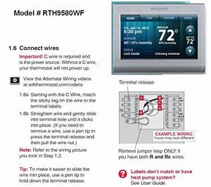 Honeywell Manual Thermostat Wiring Diagram