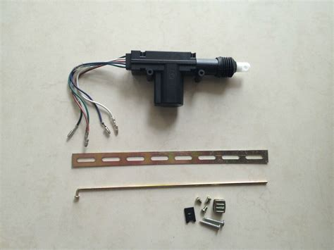 Car Auto Locking System 5 Wires Double Gun Type Central