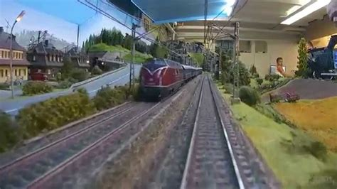 large private model railroad rr ho scale train layout