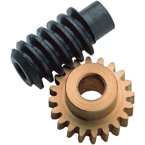 Brass Gear and Steel Worm Drive Set 1:60 (3mm bores ...