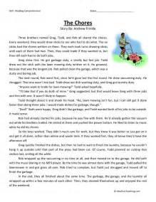 free third grade reading comprehension 3rd grade reading comprehension worksheets free abitlikethis