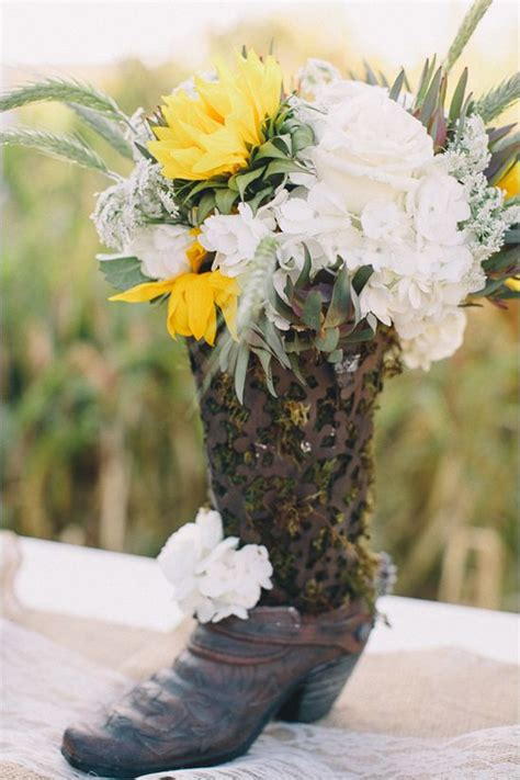 country burlap  lace wedding florals  wedding