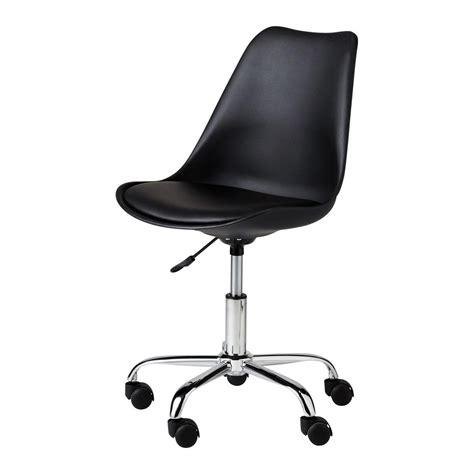 chaisse bureau chaise de bureau bristol maisons du monde
