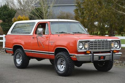 No Reserve: 1977 Dodge Ramcharger SE 4x4 for sale on BaT
