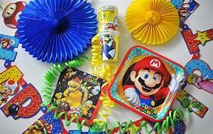 Super Mario Deko : we are heroes superhelden videospiel party zum kindergeburtstag pink dots partystore deko blog ~ Frokenaadalensverden.com Haus und Dekorationen