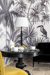 Papier Peint Arbre Noir Et Blanc : notre s lection de papiers peints panoramiques pour se sentir au plus proche de la nature ~ Nature-et-papiers.com Idées de Décoration