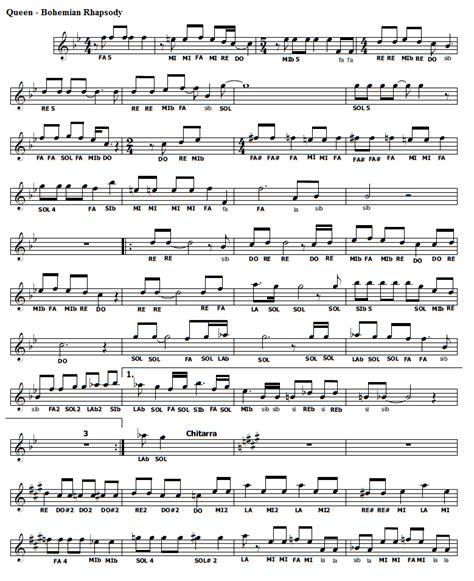 testo ymca musica e spartiti gratis per flauto dolce bohemian