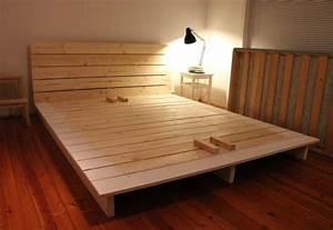 Diy, fabriquer un lit plate-forme
