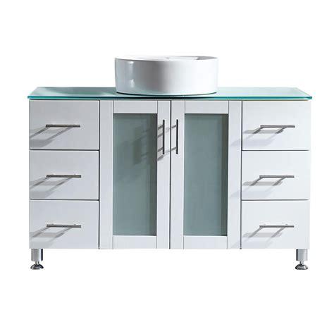 modern kitchen cabinet vinnova tuscany 48 in w x 22 in d x 30 in h vanity in 4207