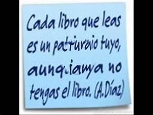 Reflexiones sobre Libros y lectura Alejandro J Diaz Valero YouTube
