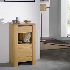 meuble telephone chene massif yucca meubles leclerc With meubles chene massif contemporain
