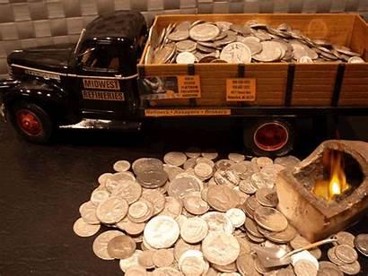 Dimes Precious Metals Refineries Midwest Dollars Quarters