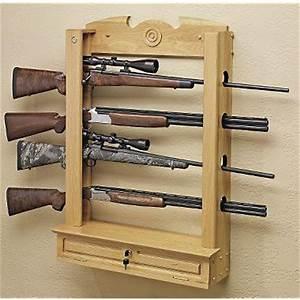 Hidden Gun Storage - Coffee Table Upgrade : guns