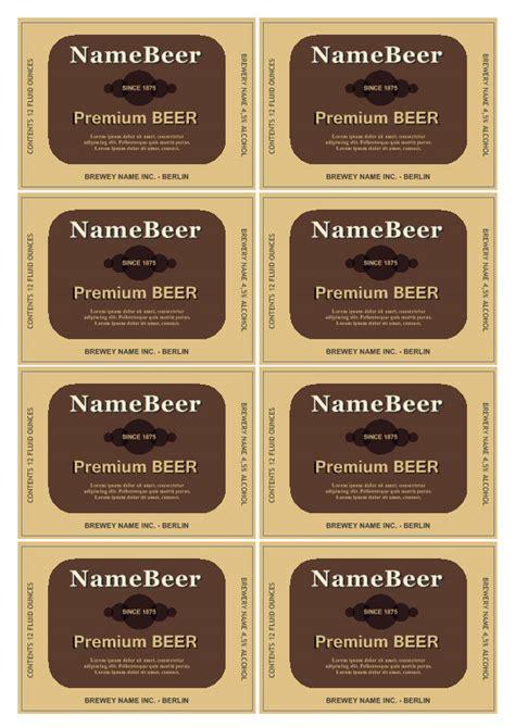 etiqueta de cerveja labeljoy labels printing software