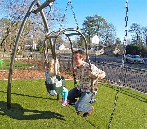 You Swing by Expression Swing Lets You Swing With Your Child Eye To Eye