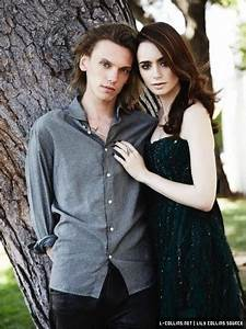 New Photoshoot: Lily Collins, Jamie Campbell Bower, Robert ...