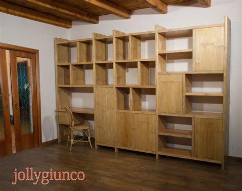 librerie etniche produzione di librerie etniche in bamboo