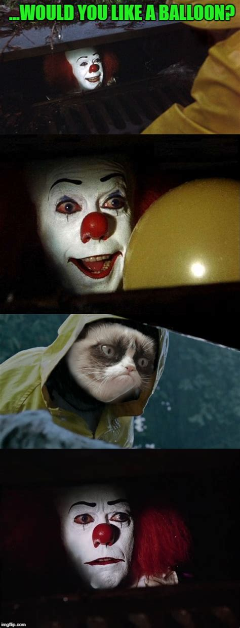 Pennywise The Clown Meme - pennywise the clown imgflip