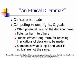 Essay On Ethical Dilemma Ethical Dilemma Essay Examples - Download