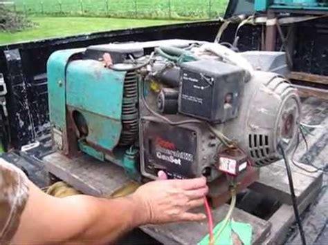 Onan Watt Emerald Iii Volt Generator Low Hrs