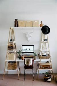 Kleiner Schreibtisch Mit Viel Stauraum : diy projekt schreibtisch selber bauen 25 inspirierende beispiele und ideen ~ Indierocktalk.com Haus und Dekorationen