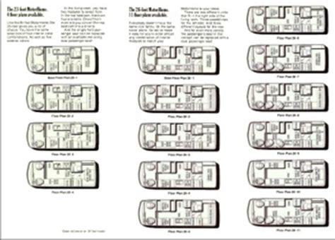 23 Gmc Motorhome Floor Plan by Looking Back On Gm S Heritage